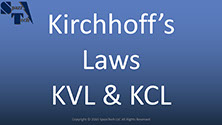 An explanation of Kirchoff's Voltage Law (KVL) and Kirchoff's Current Law (KCL) which are fundamentals needed for analysis of any circuit.